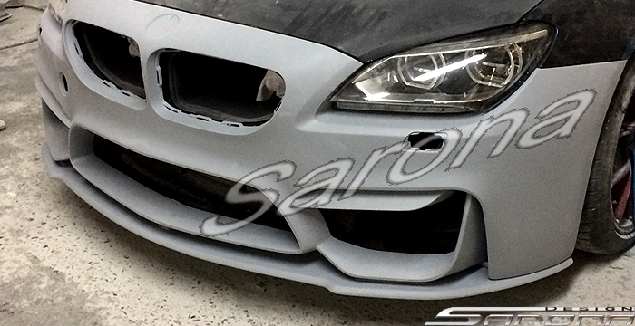 Custom BMW 6 Series  Coupe, Convertible & Sedan Front Bumper (2011 - 2016) - $980.00 (Part #BM-072-FB)